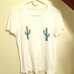 Urban outfitters cactus front tee